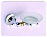 Stainless Steel Soap dish KL-SH366 Bathroom Glass Soap holder basket Bath Accessories Shower Room Discount