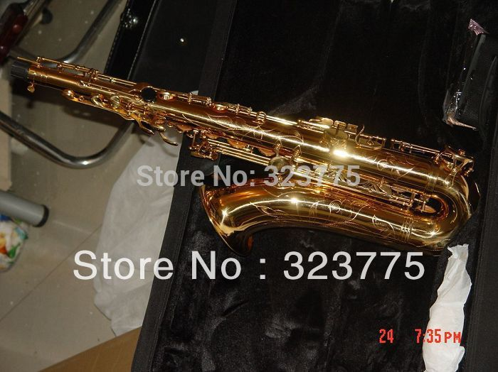 best Newest beautiful YAS-62 Professional Alto Saxophone Sax w case(China (Mainland))