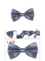 Grey tie men dress business tie wedding dress