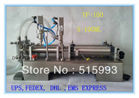 0-30bottles per minute 5-100ml  double heads automatic liquid filling machine Stainless steel 304