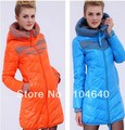 2012 cotton-padded jacket hot-selling slim medium-long women&#39;s plus size wadded jacket cotton-padded jacket female