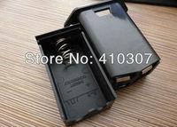 New Arrival 9V Battery Box Case Black Plastic Battery Holder for One 9 Volt Battery High Qualtiy Hot Sale Freeshipping 200 pcs