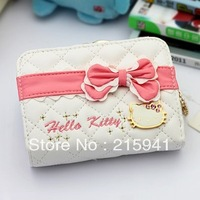 Christmas Wallet Hello kitty HELLO KITTY cartoon wallet short design women's wallet