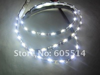 [Seven Neon]Free shipping 50pcs waterproof 60cm 60leds SMD DC12V 335 side emmiting LED Flexible Strip Light