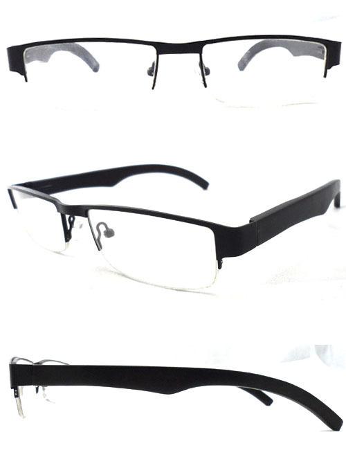 5pcs/lot mix color men's metal eyewear 100% nature wood optical arm glasses/eyeglasses factory wholesales directly(China (Mainland))
