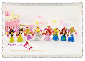Wholsale Princess Children / kid's jewelry set 8 styles kids fashion necklaces christmas gift sets10 set /lot Free