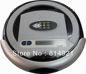 Robotic vacuum cleaner QQ2L-B(For EURO  buyer)-time control,auto-charege cleaner,origina design,good quality,good price