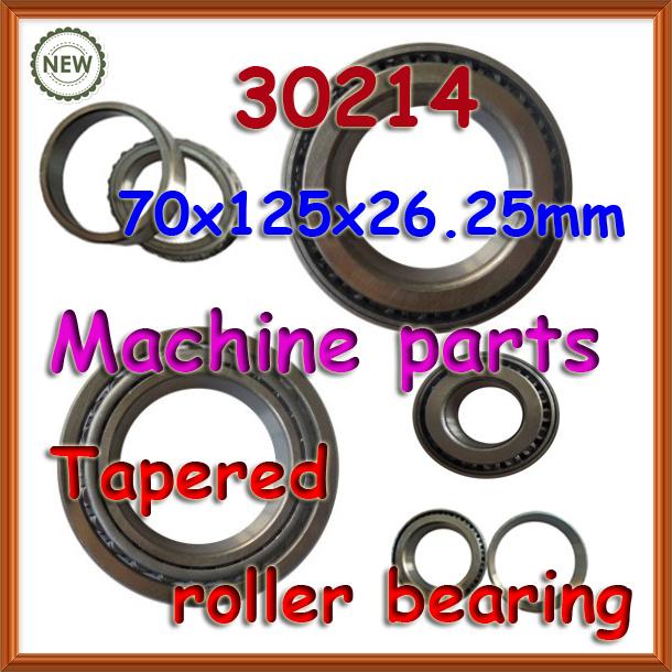 70mm wheel 30214 tapered roller bearing 70*125*26.25 70x125x26.25mm T3EB070 7214E taper bearing(China (Mainland))