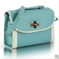 New fashion style in 2012  Leisure fashion small pure and fresh and paragraph small bag lady