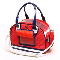 Lovabledog pet bag travel bag red