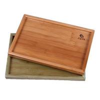 Large tea plate bamboo Chese kungfu tea tray29.5 cm*19cm *2cm flower tea tray coffee board Free shipping