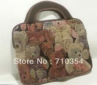 Free Shipping classic cut bear sleeve Case hangbag cute inner bag For Apple Ipad 2 Ipad 3 Ipad1