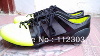 Free Shipping Real Pics GS Outdoor Soccer Shoes For Men Team Sports Boots Original Sole Cleats Black Neon Green