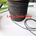 free shipping 1mm thread cord shamballa rope black Waxed Bead Cord fit shamballa bracelet&necklace string 310 meter