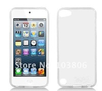 New Soft TPU Gel Rubber Case Cover Skin transparent  clear  For IPOD TOUCH 5