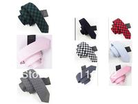 Man leisure cotton tie 5 cm han2 ban3 fashionable narrow tie multicolor choose