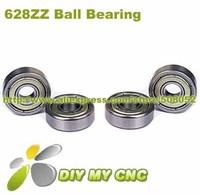 Free Shipping for Deep groove ball bearing 628ZZ 8x24x8 Shielded Miniature Ball Bearings 8mm*24mm*8mm