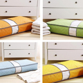 2822 multi-colored bamboo Visual bed quilt storage bag clothes storage bags