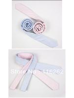 Fashion han man cotton tie 5 cm fine lattice two color choose