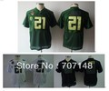 Youth Oregon Ducks #21 James Black White Green College Football Jersey -Free Shipping