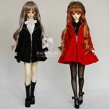 Hot sell fashion zipper dress  doll coat, new style skirt doll coat,popular dress doll clothes+free shipping