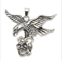 316L stainless steel pendants - the eagle pendant European and American style punk rock pendant-BWP-00039
