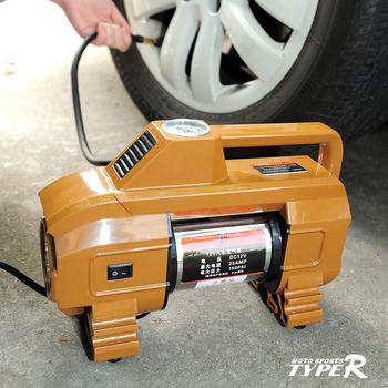 Typer cylinder car air pump car air compressors vaporised pump air compressors tape led lighting tr-2025