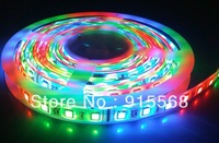 5050  5M RGB LED Strip SMD 30led/m indoor non-waterproof + 24 IR remote & controller String