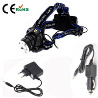 NEW 1600 Lumen CREE XM-L T6 LED Bicycle bike HeadLight Lamp Flashlight Light Headlamp +2pcs 18650 3000mAh Battery+1pcs Charger