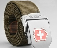 Men's Outdoor Strengthen Canvas Belt waistband Free Shipping Wholesale Retail 15 Colors