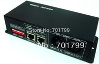 promotion!!! 3channel dmx constant voltage decoder,DC12-24V input,max 4A each channel