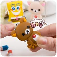Free Shipping cartoon animal soft nail clipper finger plier finger cut nail art tools