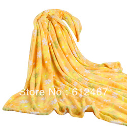 Warm Soft and Cheap coral fleece blanket/ travel blanket/winter/blanket(China (Mainland))