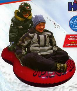 Free shipping Inflatable 2 person  Snow Tube / Ski Tube  / ski toy