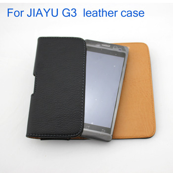 For JIAYU  phone  Leather Pouch Leather Case Holster Cover for JIAYU G3T Lenovo p770 A820 A800  leather pouch free shipping