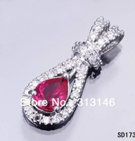 Necklace Crystal pendants 925 sterling silver necklace pendant silver pendant chain 925 sterling silver Jewelry beads