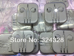 Freeship earphone for IPhone5 New original earpods for iphone5 Volume Remote Control Talk For IPhone Best Headset 1PCS/lot(China (Mainland))