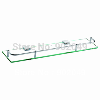 Bathroom Accessories Glass Commodity Shelf Stainless Steel Tray KL-GT101B (50cm) Dual Tier Kitchen Hardware Discount