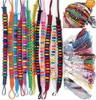 120pc 12colors Wholesale Lots Beads Braid Handmade Fashion Friendship Bracelets