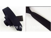 5 cm man han2 ban3 leisure narrow tie black cotton tie two color