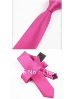Man fashion leisure tie rose sparkle 7 cm han2 ban3 narrow tie