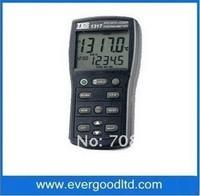 TES-1318 Platinum RTD Thermometer Hygrometer Free  shipping