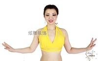Belly dance top bra belly dance clothes top rhinestones bra belly dance