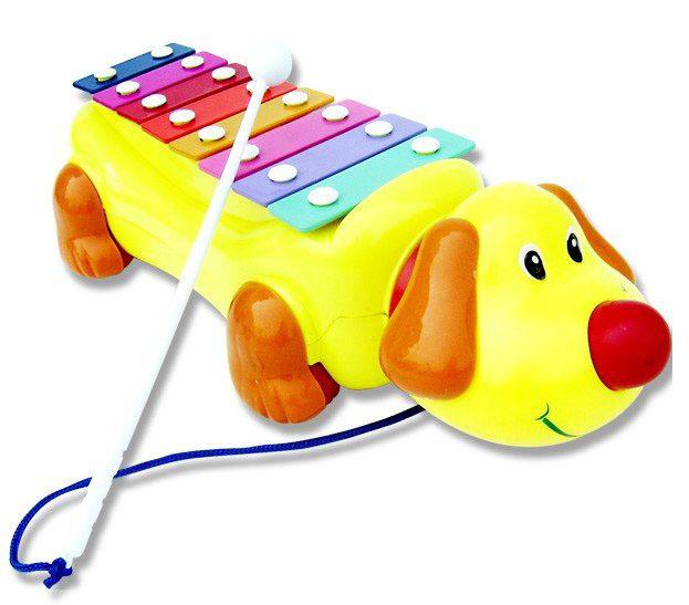Musical Violin Dog Toy Music Toddler Dog Violin