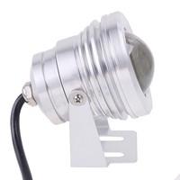 10W 12V 450LM LED Underwater Light Lamp Convex Lens