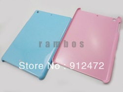 200pcs/lot For ipad mini, Plastic Shield Hard Rubber Gel Case Cover Skin, 7.9 inth Tablet, free shipping(China (Mainland))