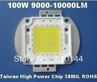 100W LED Module ,Taiwan High Power Chip 38MIL  ,9000-10000LM LED light, Integrated High-power Light source,ROHS.