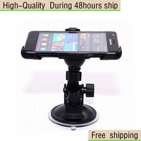 New Windshield Suction Car Mount Cradle Holder For Samsung Galaxy S2 i9100 Free Shipping DHL UPS EMS HKPAM CPAM