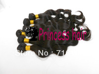 Wholesale -top good customer feedback peruvian virgin hair weave, body wave, free shipping by DHL