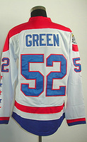 #52 Mike Green Men's Authentic Third White Hockey Jersey